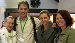 Ms Henriette Hobbs, Prof Marco Weinberg, Dr Samantha Barichievy and Ms Robyn Brackin (from left to right)