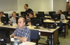 Participants during the Taverna software demonstration