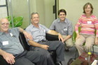 Prof Braam Louw (UP), Dr Colin Kenyon (CSIR Biosciences), Dr John Becker and Prof Jane Morris (ACGT)