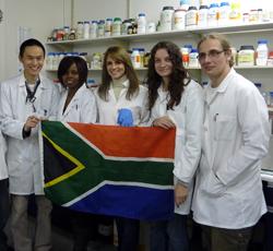 Members of the iGEM team 2011 (Team Wits-CSIR)