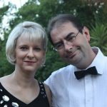 Professors Annie and Fourie Joubert